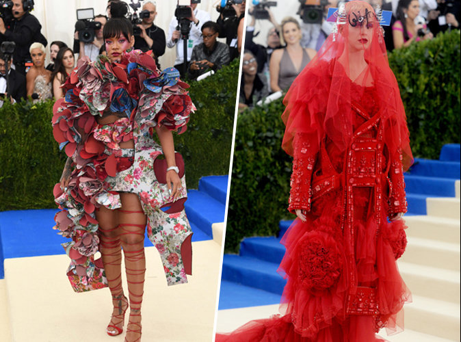 Met Gala 2017 : Rihanna et Katy Perry ou l'extravagance à son apogée !