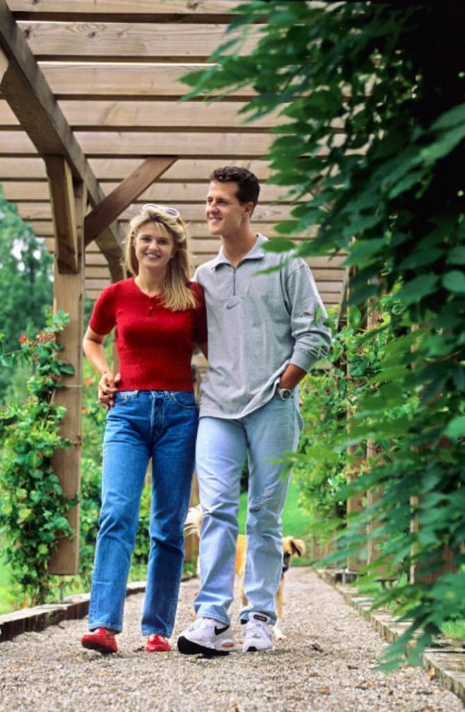 Michael Schumacher et son épouse Corinna !