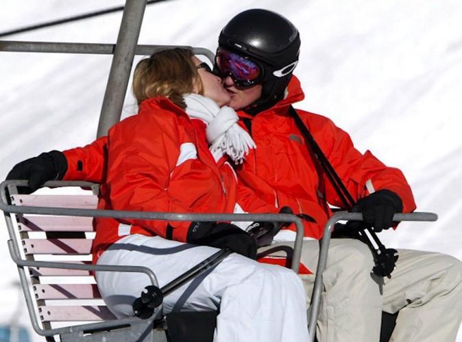 Michael Schumacher et son épouse Corinna partagent la même passion pour le ski !