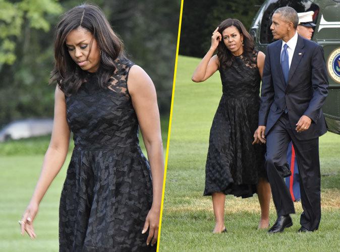Photos Michelle Obama Menac 233 E De Mort Un Policier