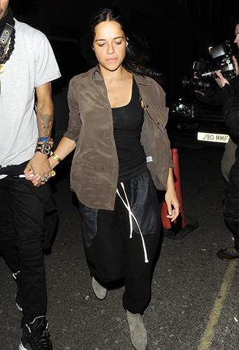 Michelle Rodriguez à Londres le 6 mars 2014