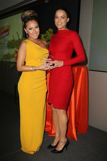 Michelle Rodriguez et Adrienne Bailon