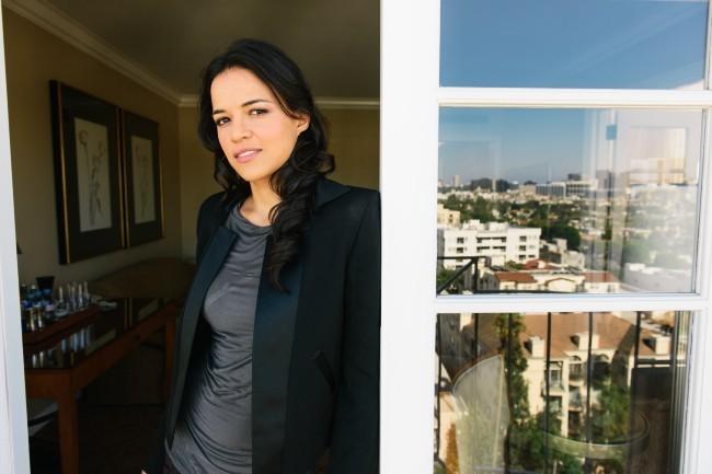 Michelle Rodriguez, Los Angeles, 26 aout 2012.