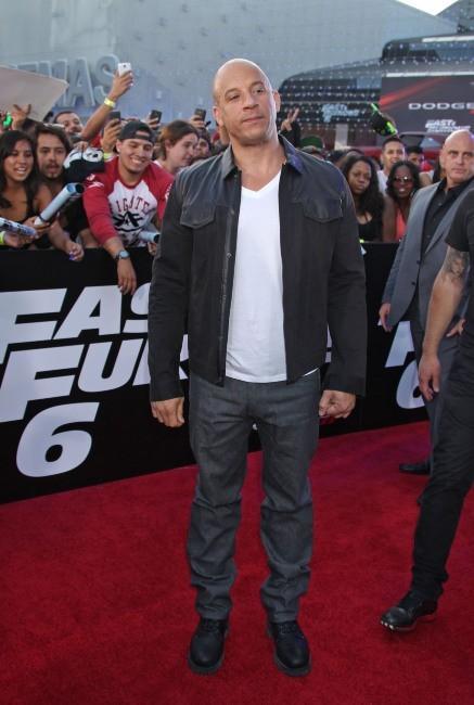Vin Diesel à la première de Fast and Furious 6