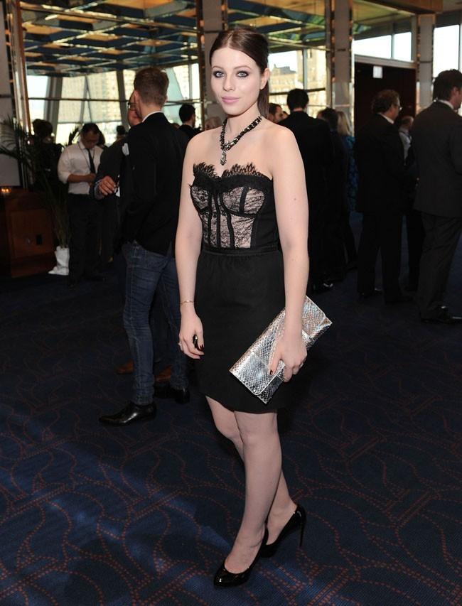 Michelle Tratchtenberg à la soirée des Lucille Lortel Awards le 6 mai 2012