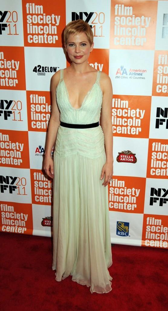 Michelle Williams lors de la première du film My Week With Marilyn à New York, le 9 octobre 2011.