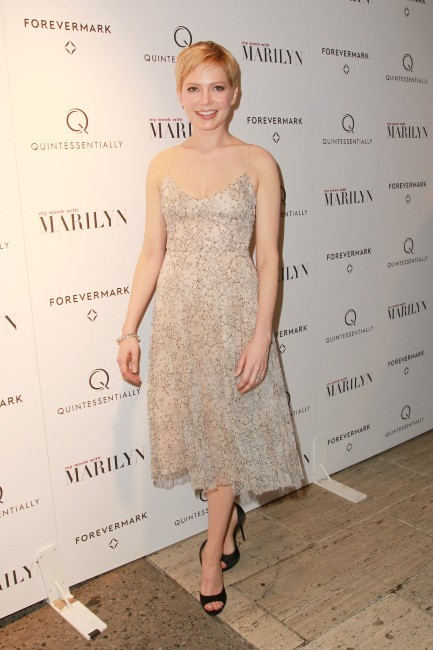 "Michelle Williams lors de la première du film ""My Week With Marilyn"" à New York, le 13 novembre 2011."