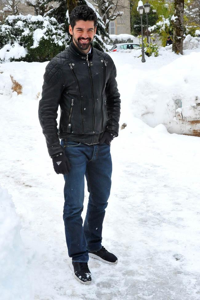 Miguel Angel Munoz à Luchon le 5 février 2015