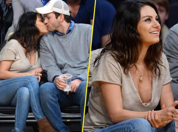 Mila Kunis : amoureuse et d�collet�e comme jamais pour une sortie sans b�b� !
