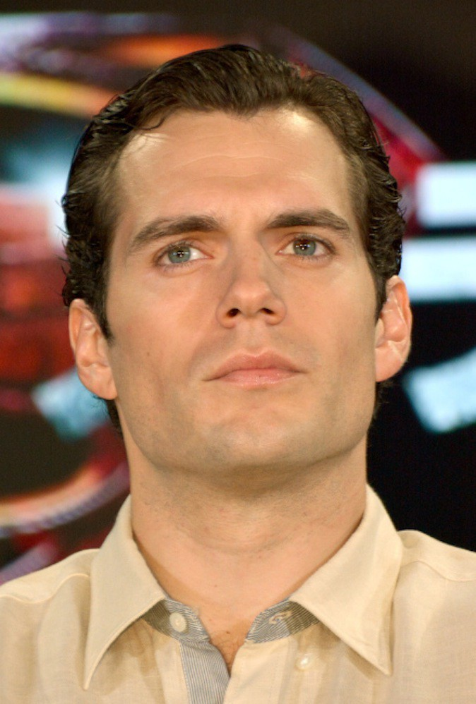 Henry Cavill a les yeux vairons !