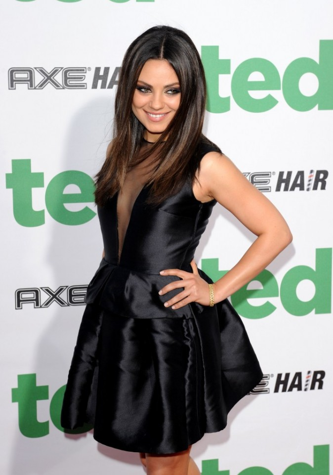 Mila Kunis lors de la première de son nouveau film à Hollywood, le 21 juin 2012.