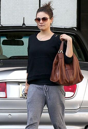 Mila Kunis à Los Angeles le 28 janvier 2014