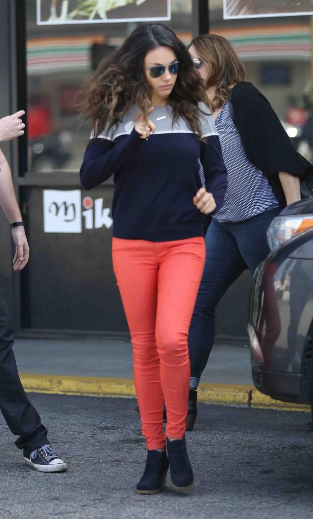 Mila Kunis : une envie de sushis assouvie !