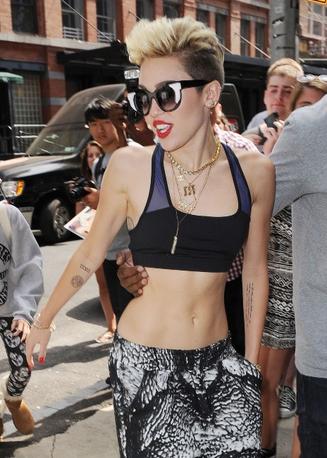 Miley Cyrus le 26 juin 2013 à New York