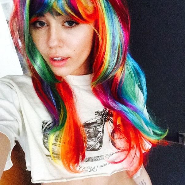 Miley voit la vie de toutes les couleurs...