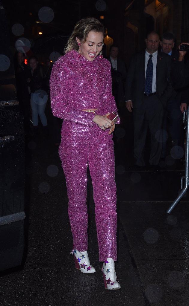 Photos : Miley Cyrus : elle a encore choisi la discretion ...