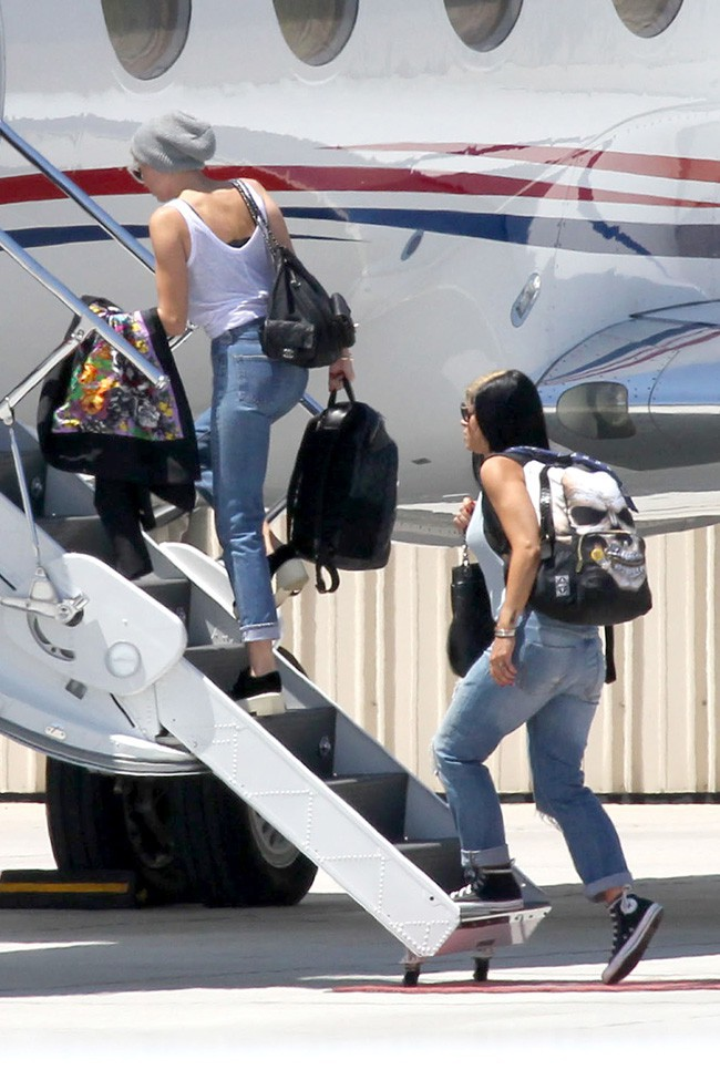 Miley Cyrus à Los Angeles le 14 juillet 2013