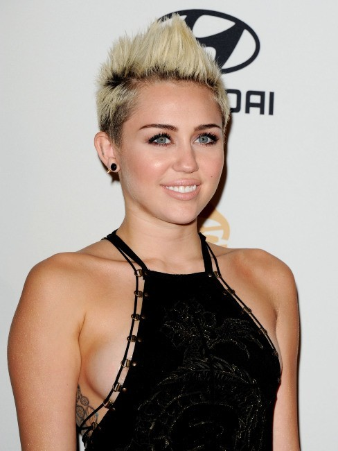 Miley Cyrus, Beverly Hills, 9 février 2013