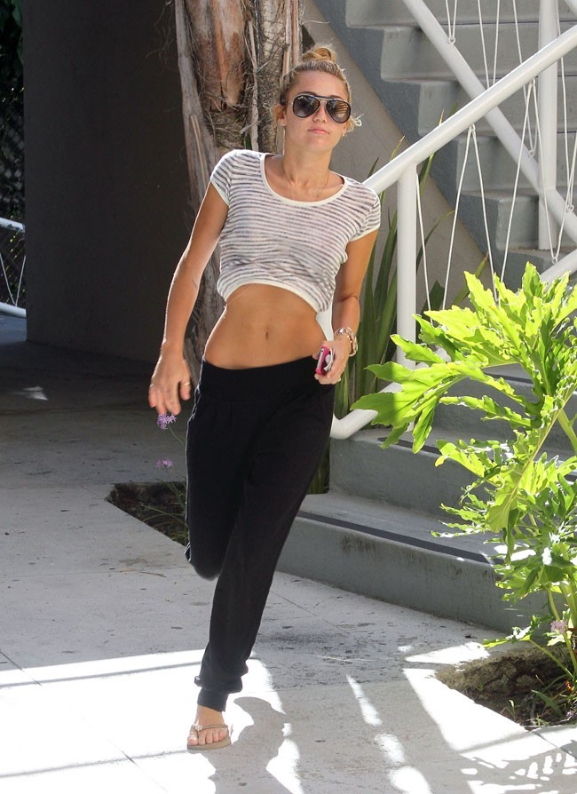 Miley Cyrus le 29 juin 2012 à Los Angeles