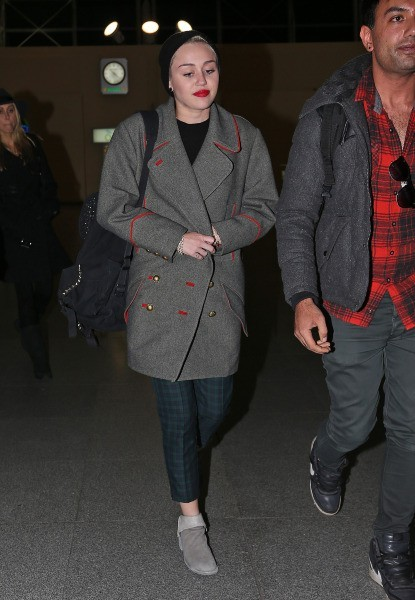Miley Cyrus le 12 février 2013 à New York