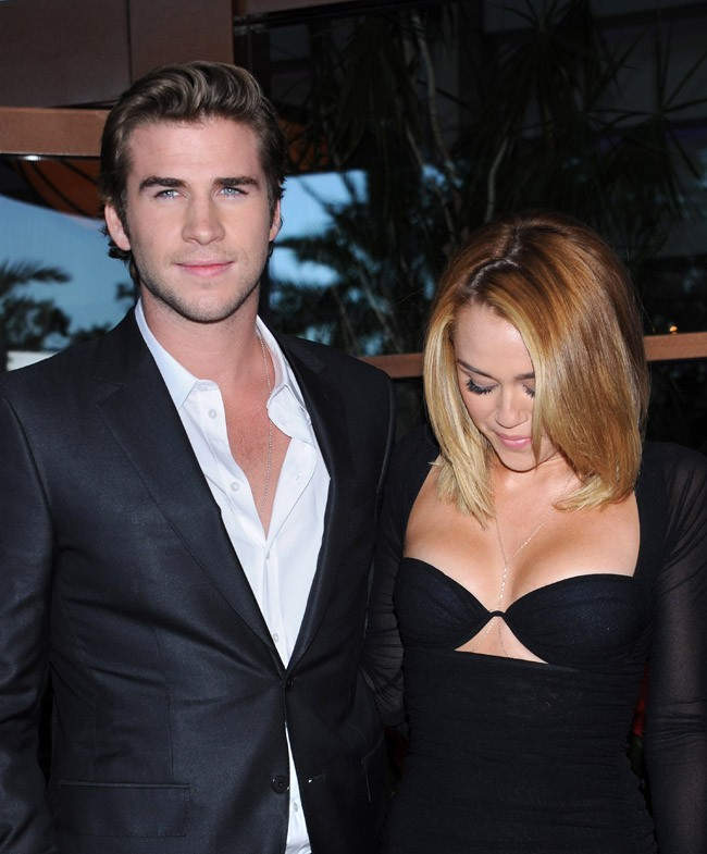 Miley Cyrus et Liam Hemsworth le 27 juin 2012 à Los Angeles
