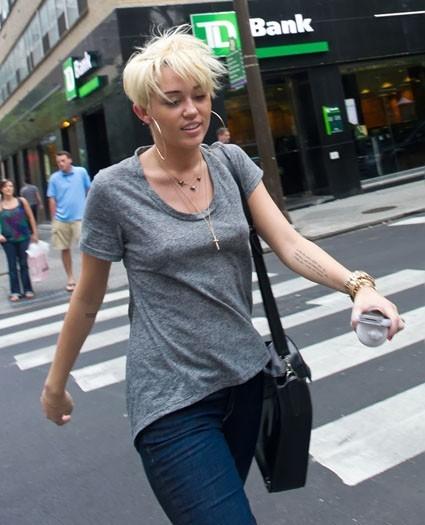 Miley Cyrus à Philadelphie le 25 août 2012