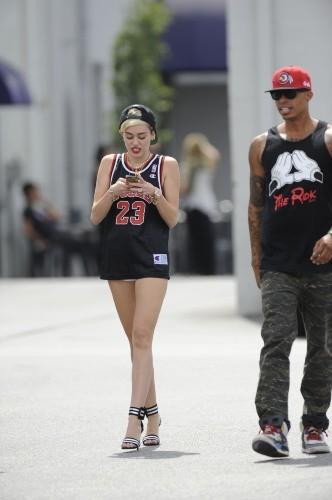 Miley Cyrus à Burbank, le 23 juin 2013.