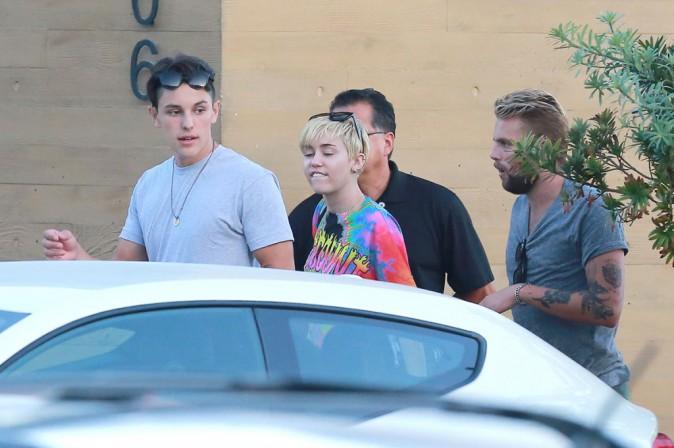 Miley Cyrus : quand elle n'est pas sur scène, la pop star se calme