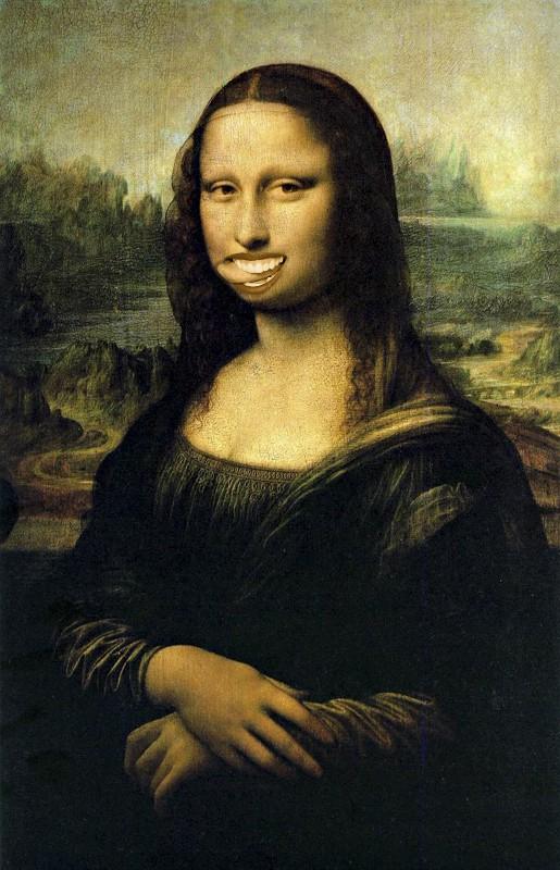 Ou peut-être qu'il s'agit de Mona Lisa ... ?