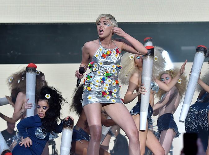 Miley Cyrus à Londres le 21 juin 2014