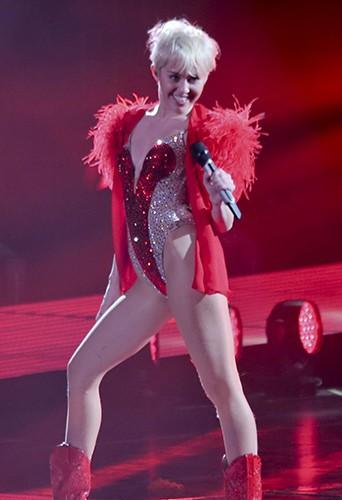 Miley Cyrus à Vancouver le 14 février 2014