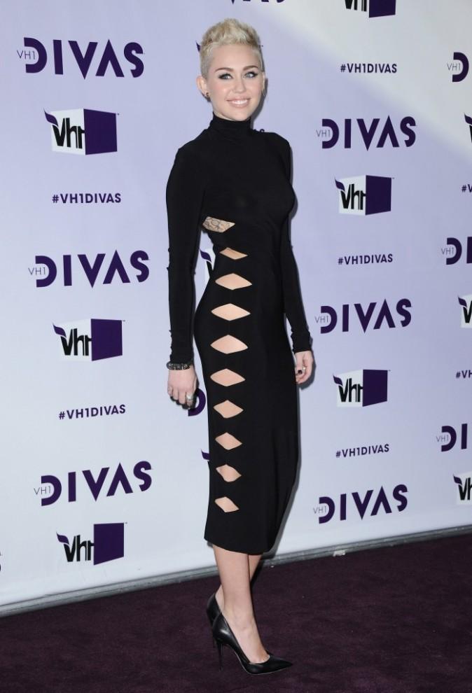 Miley Cyrus lors de la soirée VH1 Divas à Los Angeles, le 16 décembre 2012.