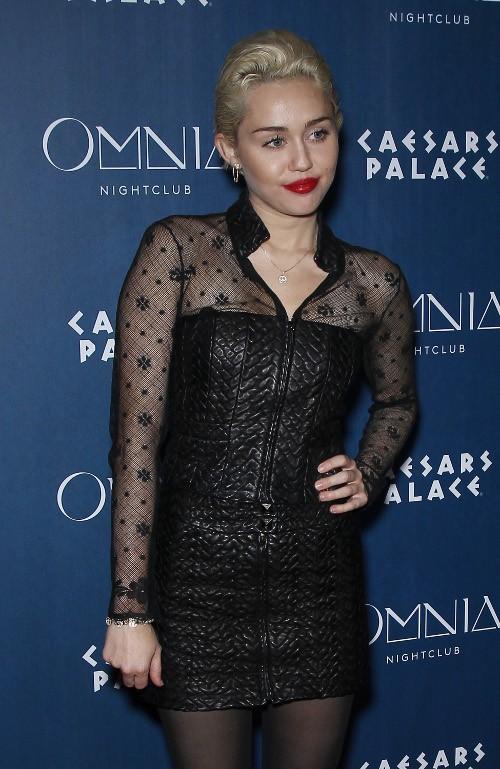 Miley Cyrus à Las Vegas le 21 mars 2015