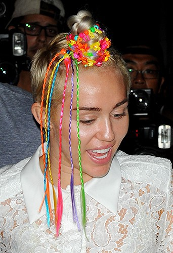 Miley Cyrus à New York le 3 août 2014