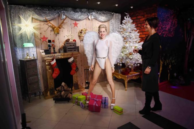 Miley Cyrus : un vrai petit ange (en cire) tombé du ciel !