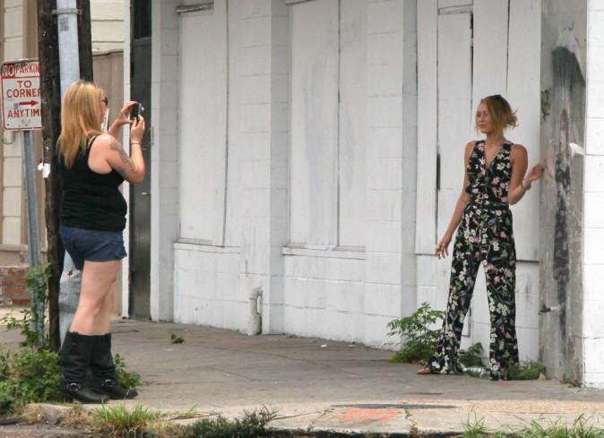 Miley Cyrus en plein shopping à la Nouvelle-Orléans, le 8 juin 2012.