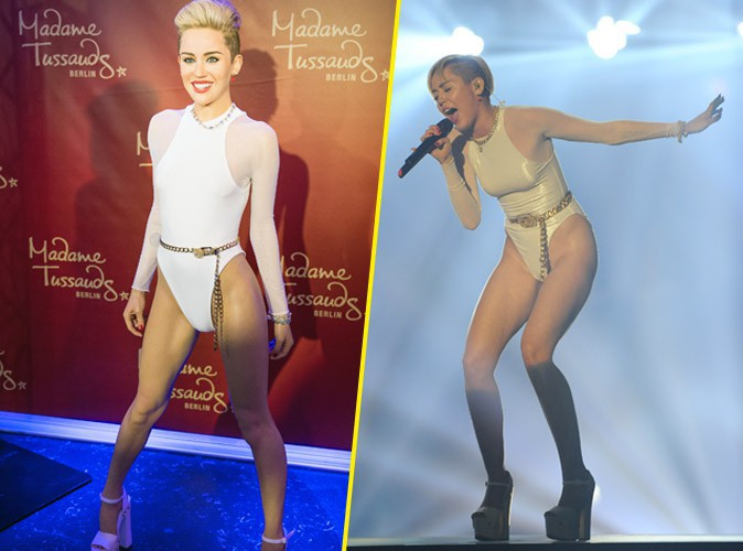 Photos : Miley Cyrus : une statue de cire plus vraie que nature ?
