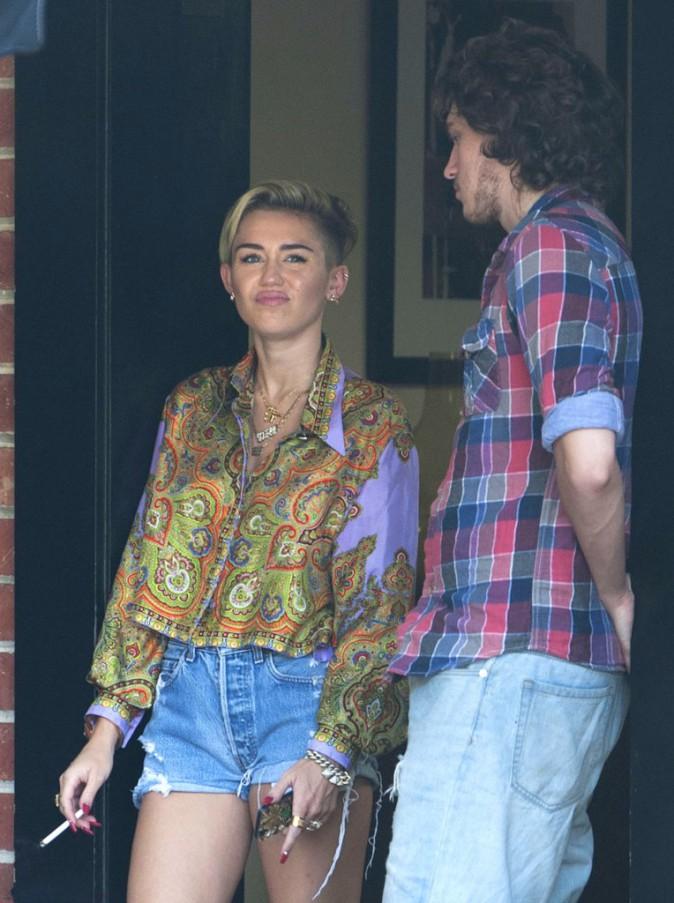 Miley Cyrus enregistre de nouveaux titres