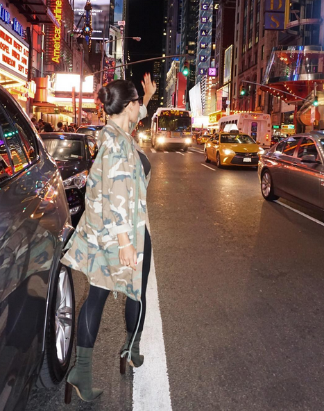 Photos : Milla Jasmine montre tout à New York !