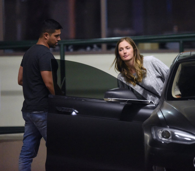 Minka Kelly et Wilmer Valderrama dans les rues de Los Angeles