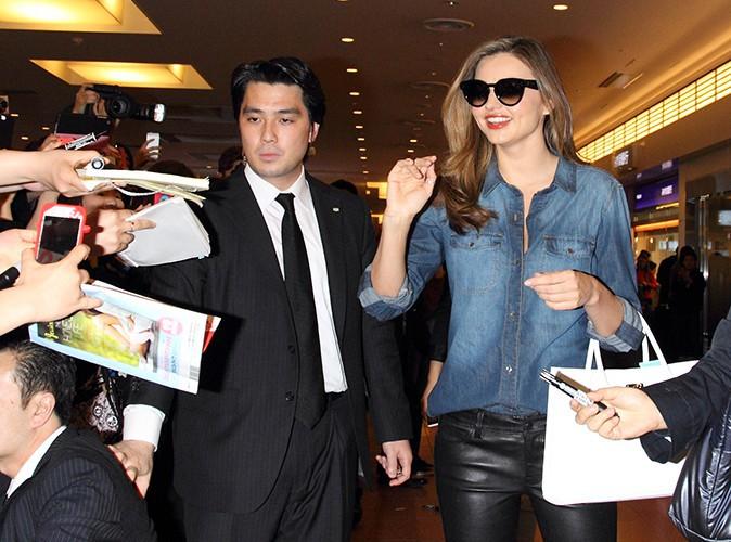 Miranda Kerr à Tokyo le 1er avril 2014