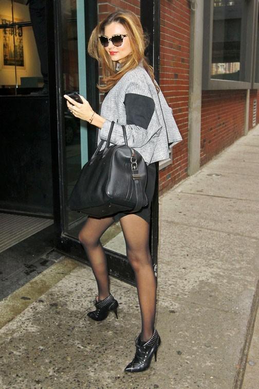 Miranda Kerr à New-York le 7 décembre 2012