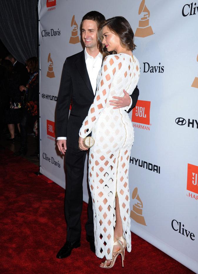 Miranda Kerr et Evan Spiegel