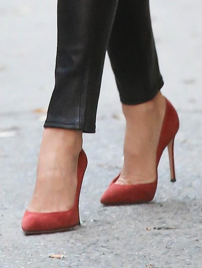 Miranda Kerr dans les rues de New-York le 23 novembre 2012