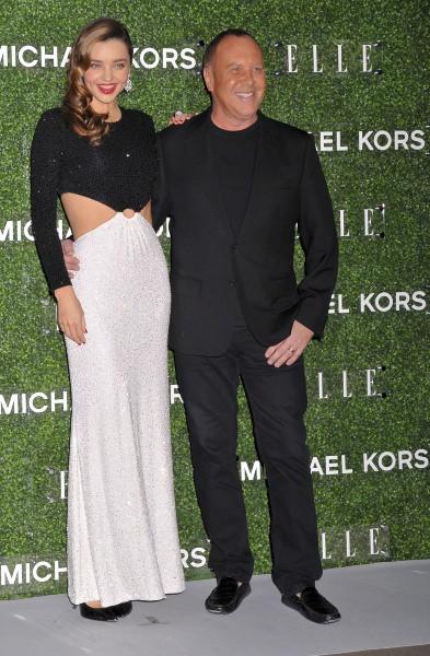 Miranda Kerr et Michael Kors en soirée à Tokyo, le 12 novembre 2013.