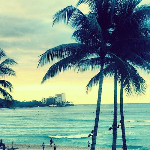 Miranda Kerr : dur, dur la vie à Hawaï