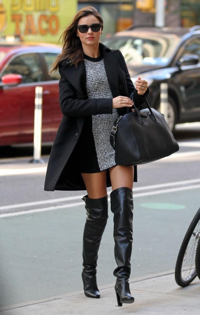 Miranda Kerr à New-York le 5 novembre 2012