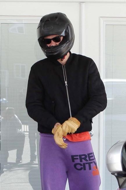 Orlando Bloom se rendant au sport à L.A., le 2 avril 2012.