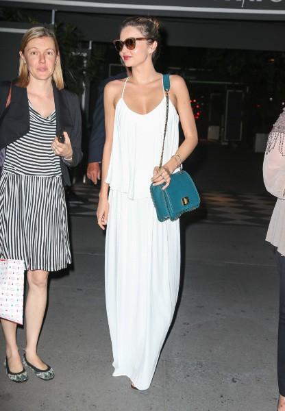 Miranda Kerr à New York, le 10 septembre 2013.