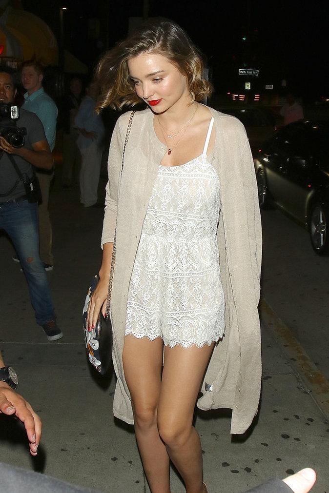 Miranda Kerr à Santa Monica le 23 juillet 2016